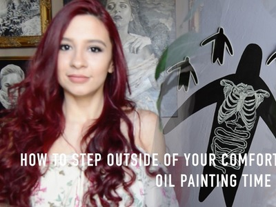 How to Step Outside of Your Comfort Zone | Oil Painting Time Lapse