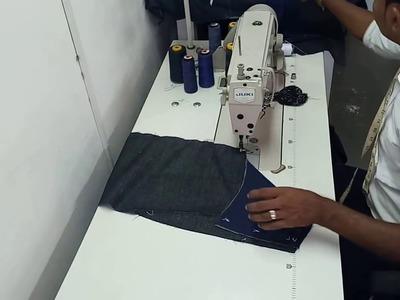 How to stitch  coat basic