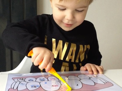 How To Teach Toddler To Brush Teeth Through Fun Activity