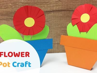 Lovely gift for Women's day paper flower pot