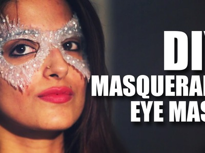 Mad Stuff With Rob - DIY Masquerade Eye Mask feat. Shalini | Knot Me Pretty