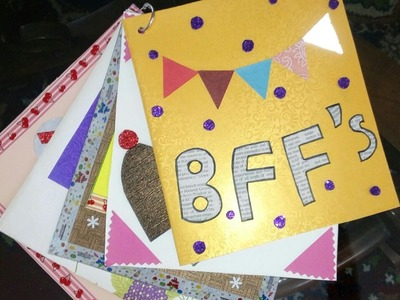 Mini Scrapbook for friends#Handmade#Affordable#AN Crafts 01