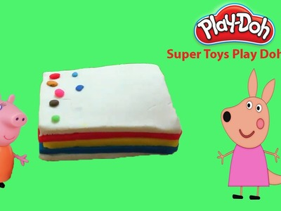 Play Doh Cake Rainbow - How to Make Play Doh Rainbow Cake Yummy Candy And Play Dough Food