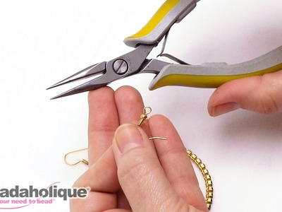 Quick Tip: How to Change the Orientation of an Earring Loop to Fit Your Design