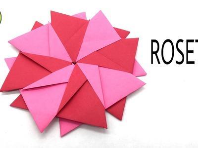 ROSETTA by Cristina Bonnet - Modular Origami Tutorial by Paper Folds