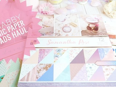 Shabby Chic Paper Pads - New at JOANNS