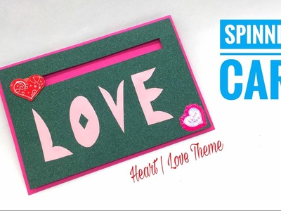 SPINNING CARD - Heart | Love theme - Tutorial by Paper Folds