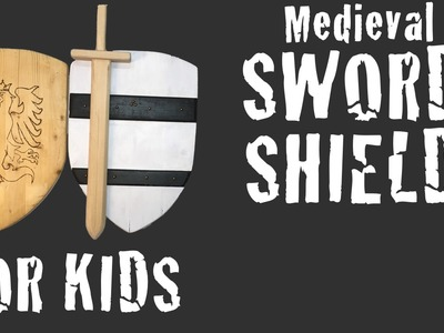Sword and Shield DIY project from pallet reclaimed wood