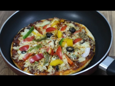 Tawa Pizza - How to make Pizza without oven - Seema's Smart Kitchen