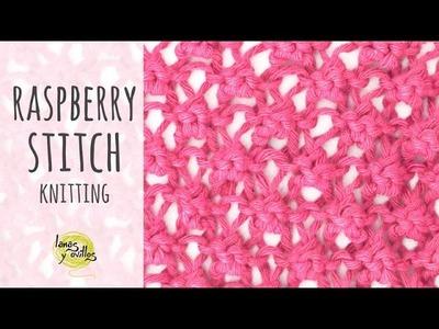 Tutorial Knitting Raspberry Stitch
