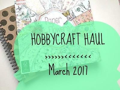 CRAFT SUPPLIES. SCRAPBOOKING HAUL | Hobbycraft | + First Edition Paper Pad Flipthrough