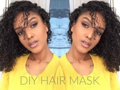 DIY Hair Mask   Dry and Damaged Hair (Vegan)