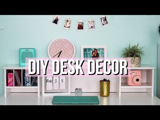 How To Decorate Your Desk Diy Tumblr Decor