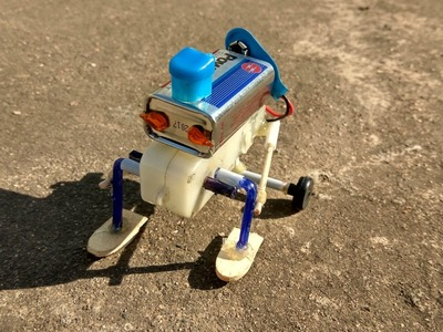 How To Make a walking Robot (awesome)