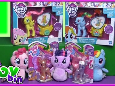 NEW My Little Pony Toys: Rainbow Dash's Royal Chariot, Itty Bittys, & MORE | Bin's Toy Bin