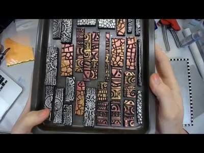 Polymer Clay Tile Project Part 1 -- Patti Tolley Parrish -- Inky Obsessions