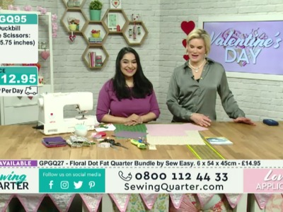 Sewing Quarter - Valentines Day -14th Feb 2017