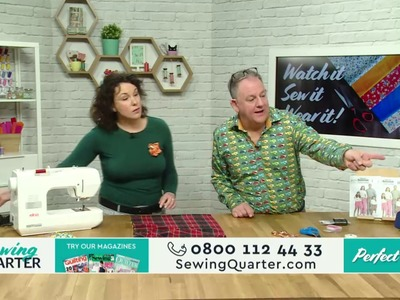 Sewing Quarter - Watch it, Sew it, Wear it - 24th Feb 2017