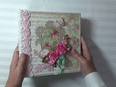 Stamperia Precious Mini Album By Cheryl's Paper Creations