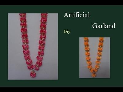 Artificial garland tutorial video