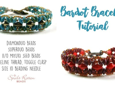 Bardot Bracelet Tutorial