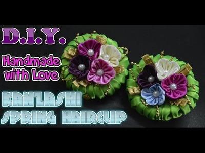 D.I.Y. Kanzashi Spring Hairclip | MyInDulzens