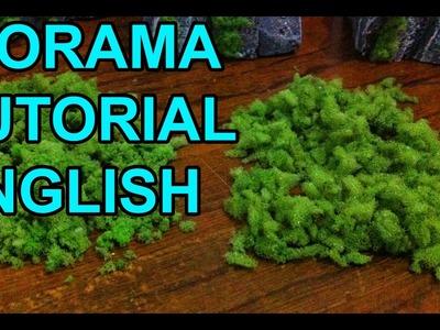 DIORAMA PROPS 1: Moss Tutorial