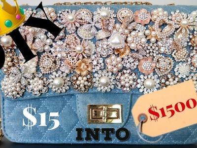 DIY | $15 to $1500 Handbag | BellaGemaNails