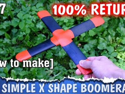 DIY boomerang - how to make it