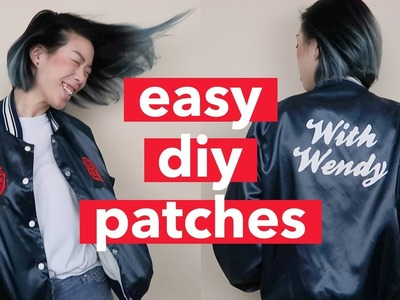 DIY Custom Patches: Roses and Monogram (feat. Q2HAN) | WITHWENDY