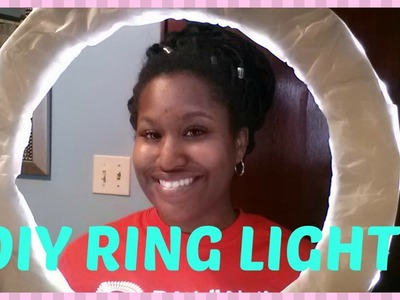 DIY Diva Ring Light under $25 - how to make a diy diva ring light at home
