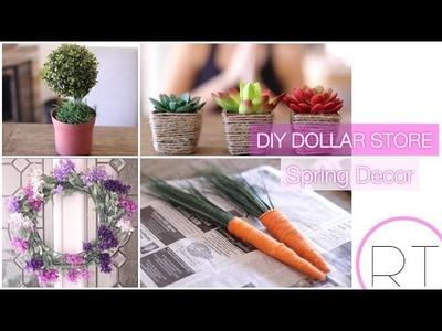 DIY Dollar Store Spring Decor