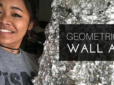 DIY | Geometric Mirrior Wall Art