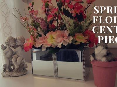 ???????? Dollar Tree Bling Spring. Easter Floral Center Piece Tutorial ????????