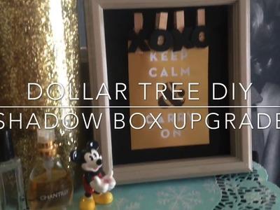 DOLLAR TREE DIY | SHADOW BOX UPGRADE 2017