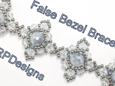 False Bezel Bracelet--Intermediate Tutorial Left Hand