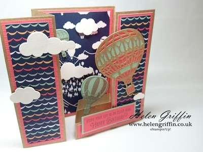 Fancy Gatefold Card Tutorial With Stampin'Up!'s Free Papers