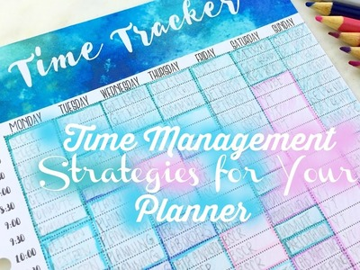 Free Printable! + How to Save Time | Time Management Strategies for Your Planner