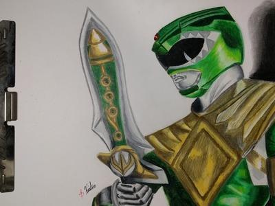 Green Power Ranger (How to Draw the Green Power Ranger) 3D Art