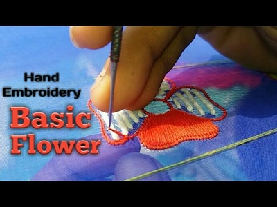 Hand Embroidery: Basic Flower