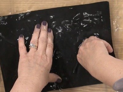 Hand Embroidery Stitching and Appliqué with Lynette Anderson- Little Black Mat Cleaning Quit Tip
