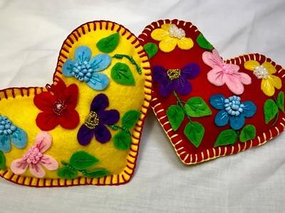 Hand Embroidery: Valentine's day Stitch