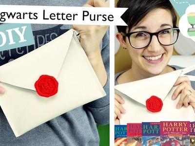 Hogwarts Letter Purse - A DIY Envelope Clutch | @laurenfairwx