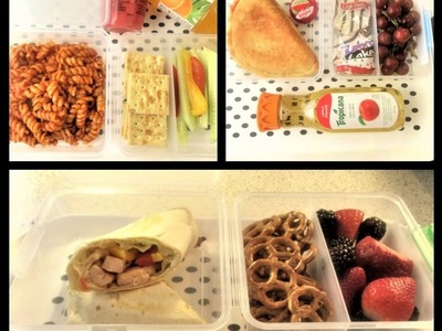 HOW TO MAKE EASY SCHOOL LUNCH 3 DIY