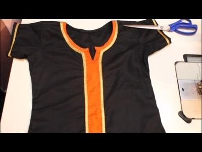 Kurta Neckline Design Simple And Easy Method ( DIY)