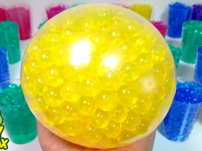 Learn Colours Orbeez DIY MIX Colors balloon Play Doh Surprise Eggs Toys