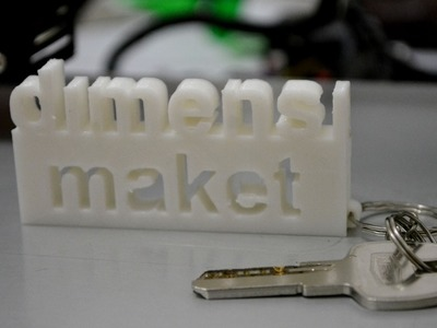 Making a Key Chain from Autocad to 3D Printing