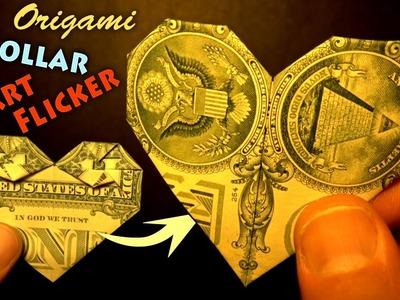 Origami Dollar Heart Flicker