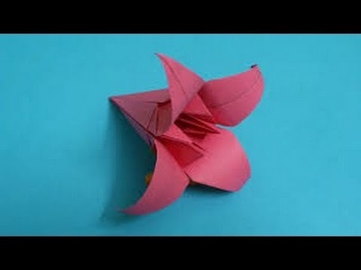 Origami Easy Lily Flower