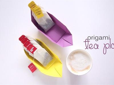 Origami Tea Plate